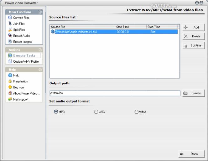 Power Video Converter Screenshot 3