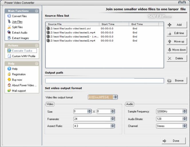 Power Video Converter Screenshot 8
