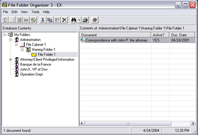 File Folder Organizer 3 - EX Screenshot