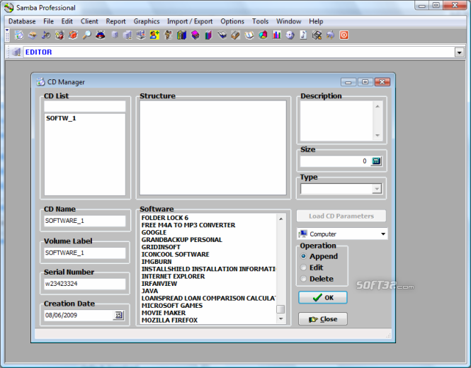 Samba Professional Screenshot 3