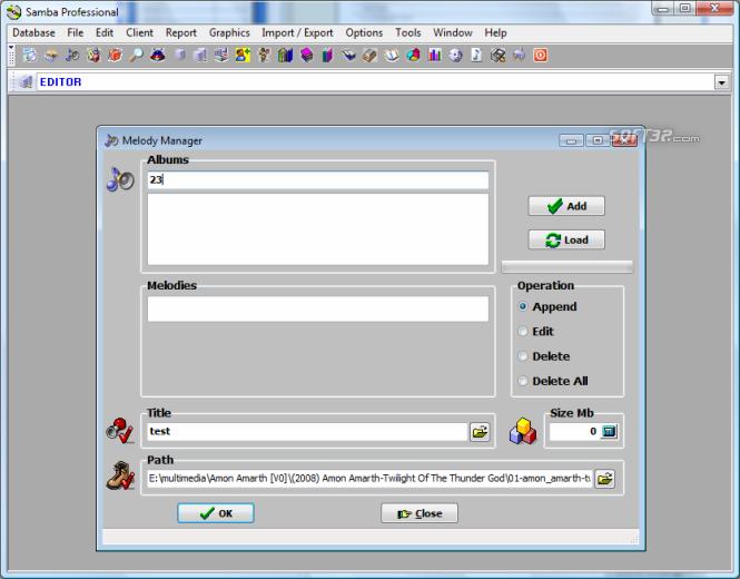 Samba Professional Screenshot 5