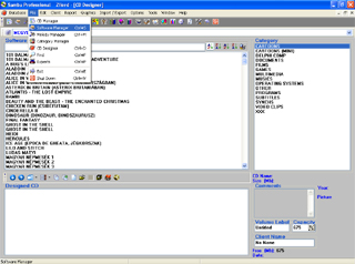 Samba Professional Screenshot