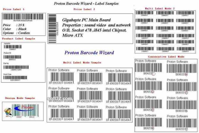 Proton Barcode Wizard Screenshot 2