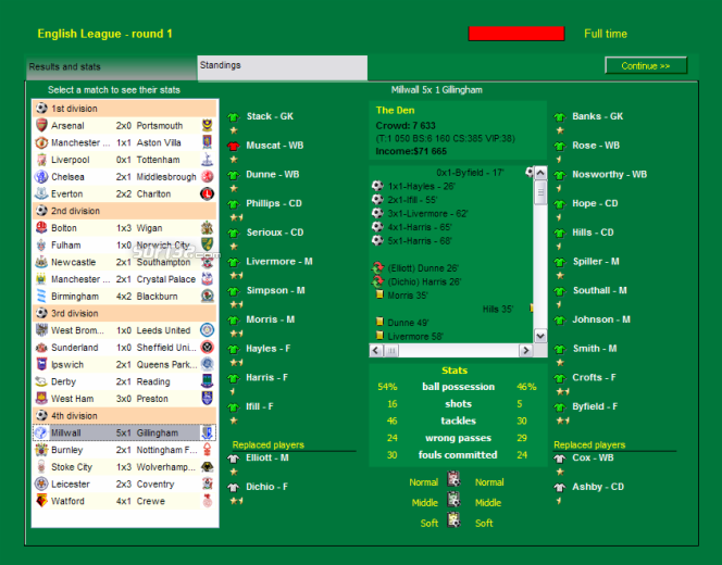 Super Soccer Manager Screenshot 6