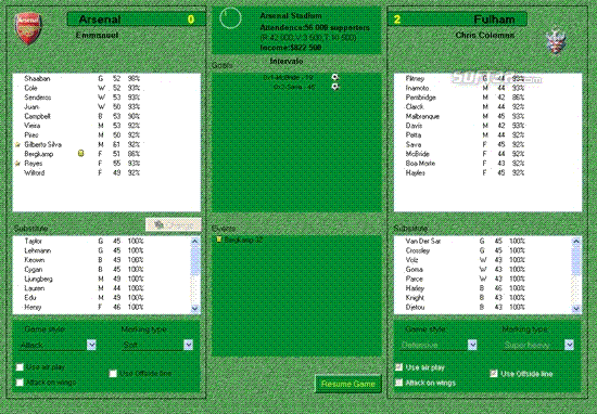 Super Soccer Manager Screenshot