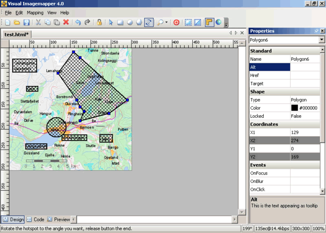 Visual Imagemapper Screenshot