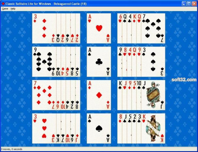 Classic Solitaire for Windows Screenshot 2