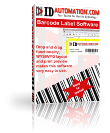 IDAutomation Barcode Label Software Screenshot 1