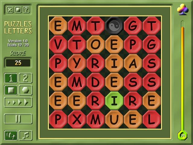 2M Puzzles Letters Screenshot 1