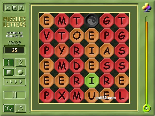 2M Puzzles Letters Screenshot 2