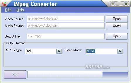 iMpeg Converter Screenshot 3
