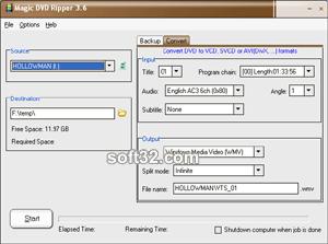 Magic DVD Ripper Screenshot 2