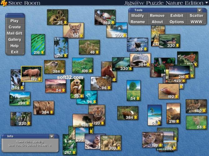 Jigs@w Puzzle Nature Screenshot 3
