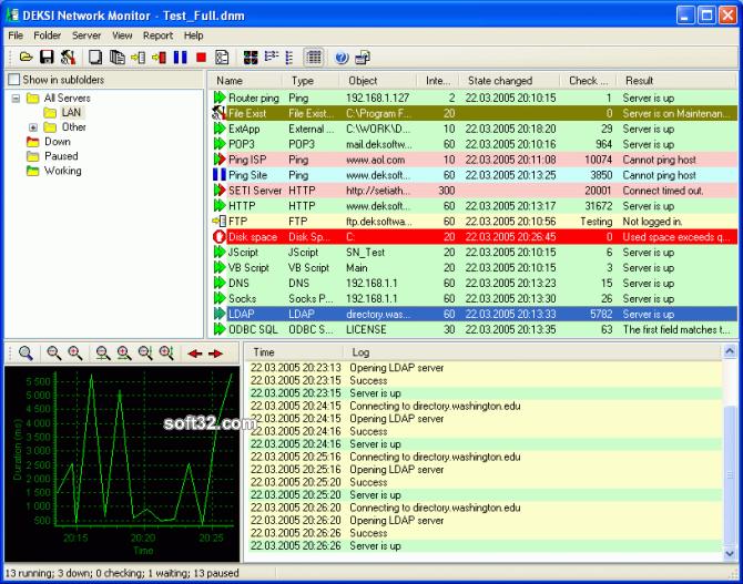 DEKSI Network Monitor Screenshot 3