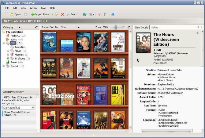 MediaMan Screenshot 3