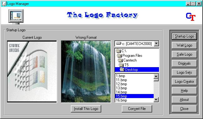 Logo Factory Screenshot