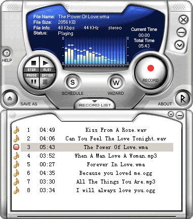 Audio Mid Recorder Screenshot