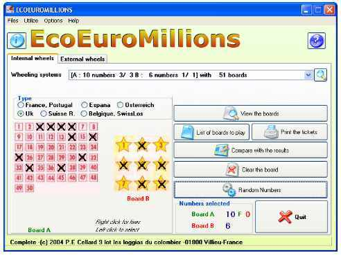 EcoEuroMillions Screenshot 1