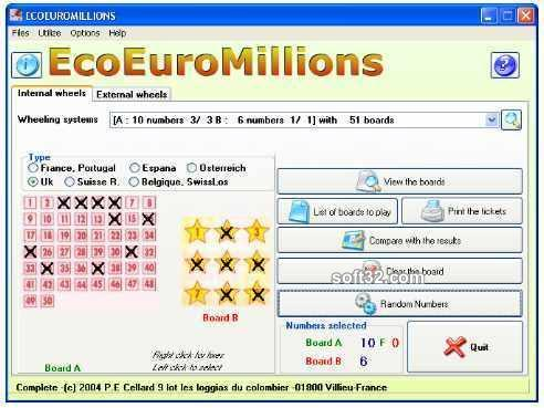 EcoEuroMillions Screenshot 3