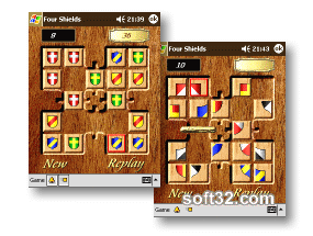 Four Shields (Pocket PC) Screenshot