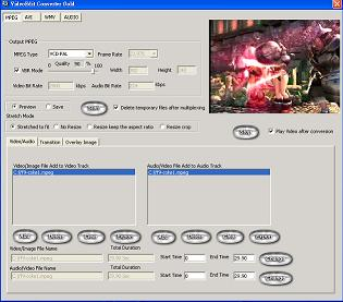 VideoEdit Converter Gold Screenshot