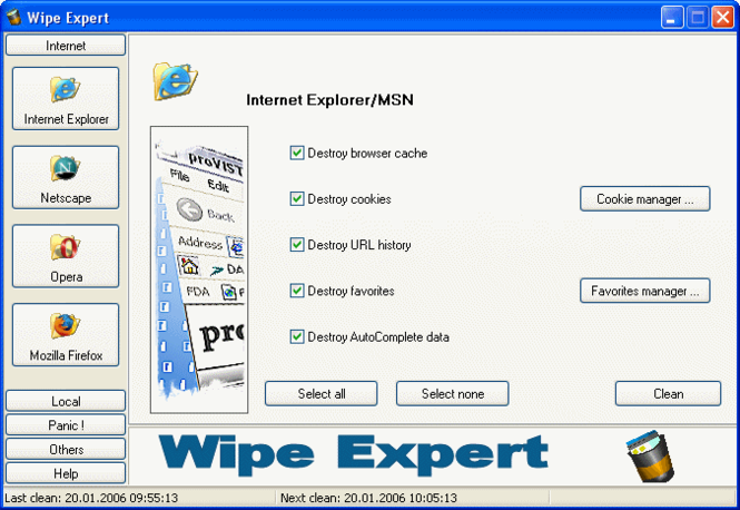 Wipe Expert Screenshot 3
