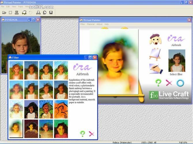 Virtual Painter Screenshot 2