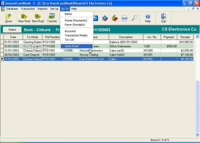InstantCashBook Screenshot 3