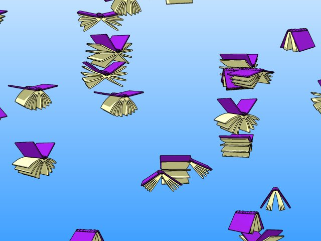 Flying Books Screenshot