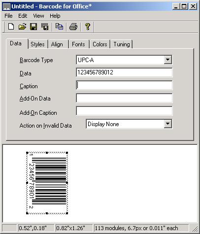 Bokai Barcode for Office Screenshot 1