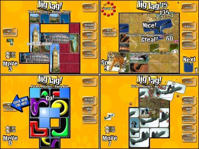 Jig Jag Gold Screenshot 3