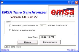 Emsa Time Synchronizer Screenshot