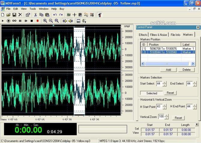 DB Audio Mixer & Editor Screenshot 3