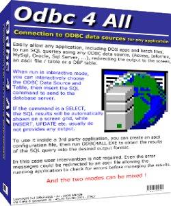 Odbc 4 All Screenshot 1