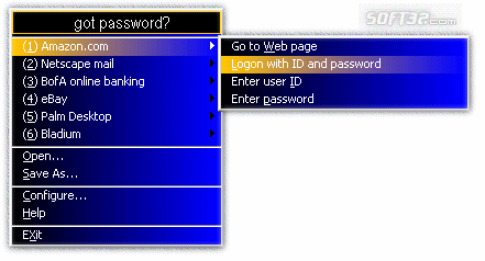 got password? Screenshot 2
