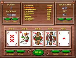 Automatic VideoPoker Screenshot