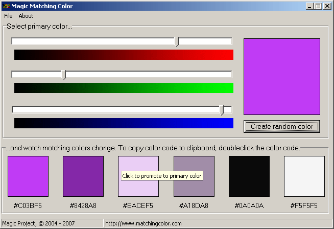 Magic Matching Color Screenshot