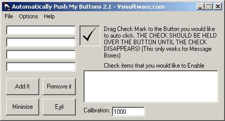 Automatically Push My Buttons Screenshot 1
