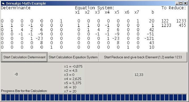 Math ActiveX Screenshot