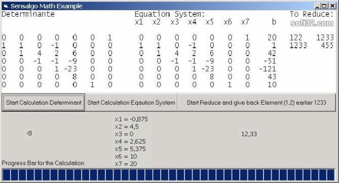 Math ActiveX Screenshot 3