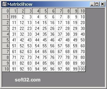 MatrixShow ActiveX Screenshot 3