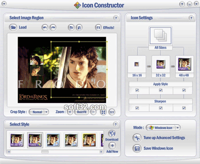 Icon Constructor - advanced icon creator Screenshot 2