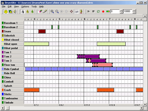 Drumsite Screenshot