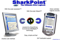SharkPoint DualPack (PocketPC & Windows), the scuba dive log 1