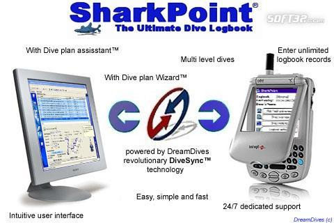 SharkPoint DualPack, the scuba dive log Screenshot 3