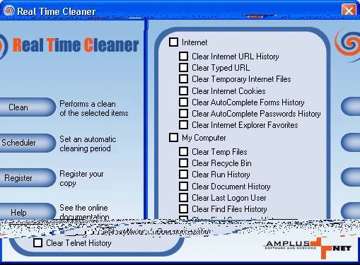 Real Time Cleaner Screenshot