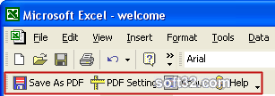 Excel to PDF Converter Screenshot 3