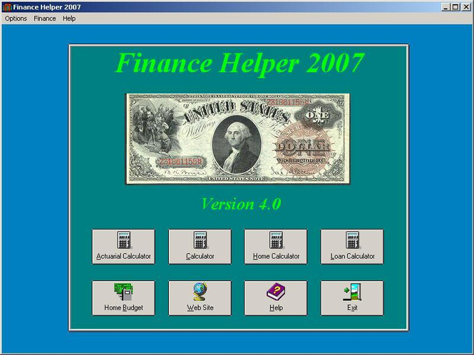 Financial Helper Screenshot