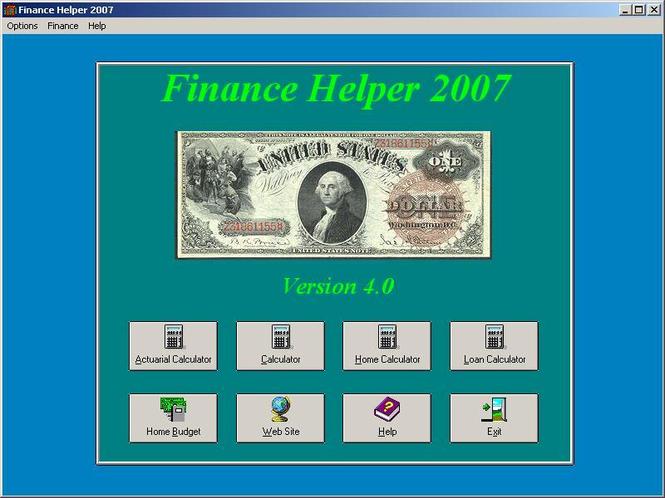 Financial Helper Screenshot 1