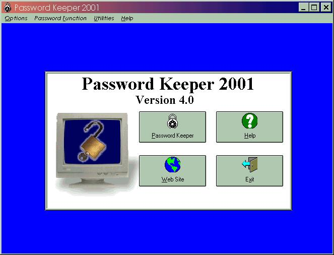 Password Keeper Screenshot